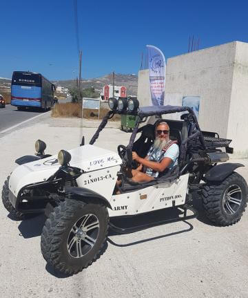 buggy car rental	  Santorini Buggy Rental by Rent me Love me | Best Buggy Santorini Hire
